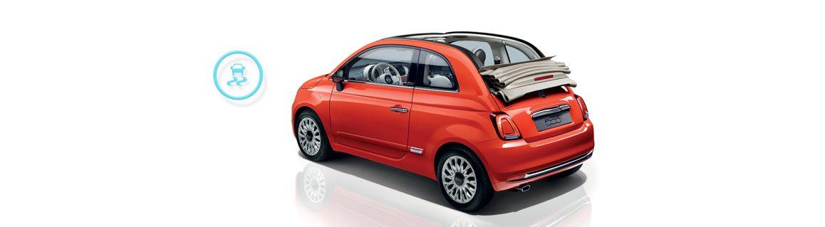 Fiat 500C ESC emniyet