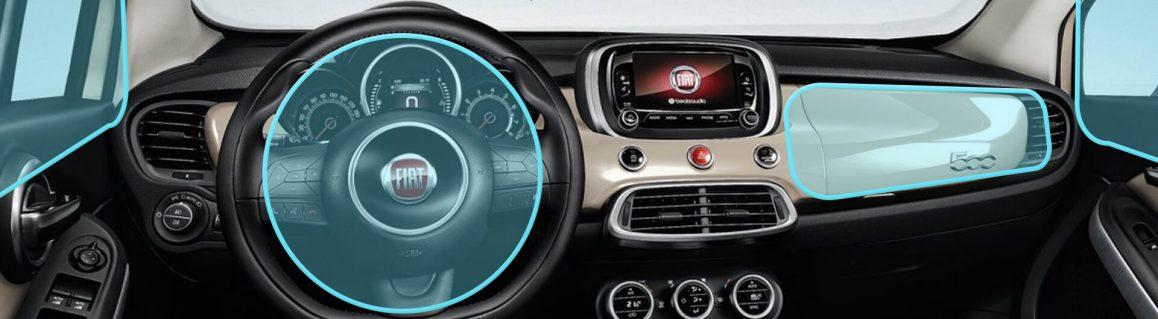 Fiat 500X Şehir Tarzı 6 hava yastığı