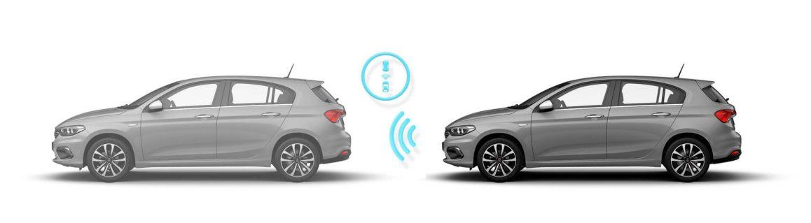 Adaptif Otomatik Seyir auto Fiat Egea 5 kapılı