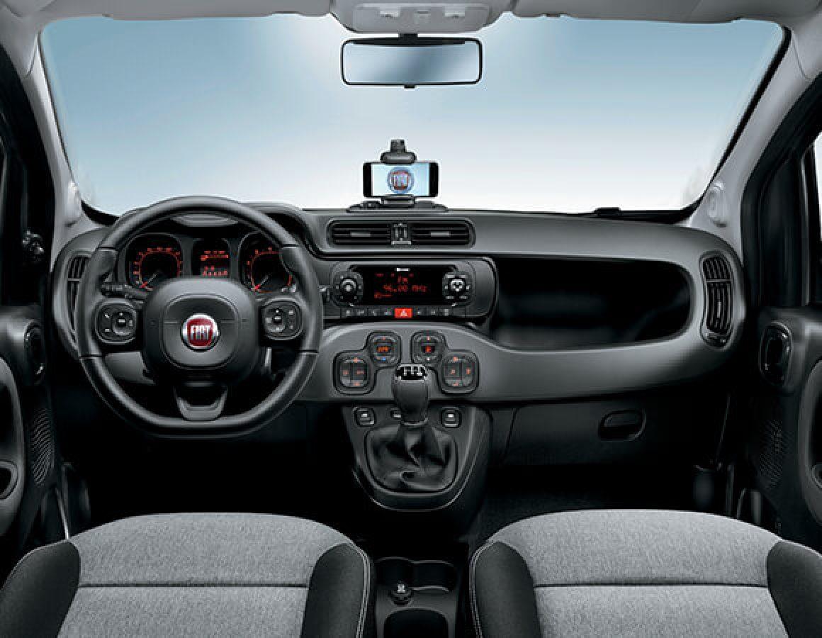 Volante, radio e cruscotto Fiat Panda