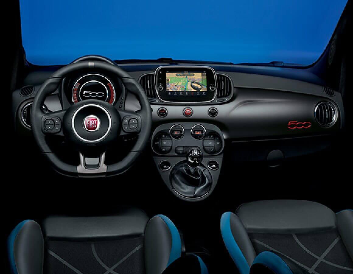 Fiat 500 Uconnect