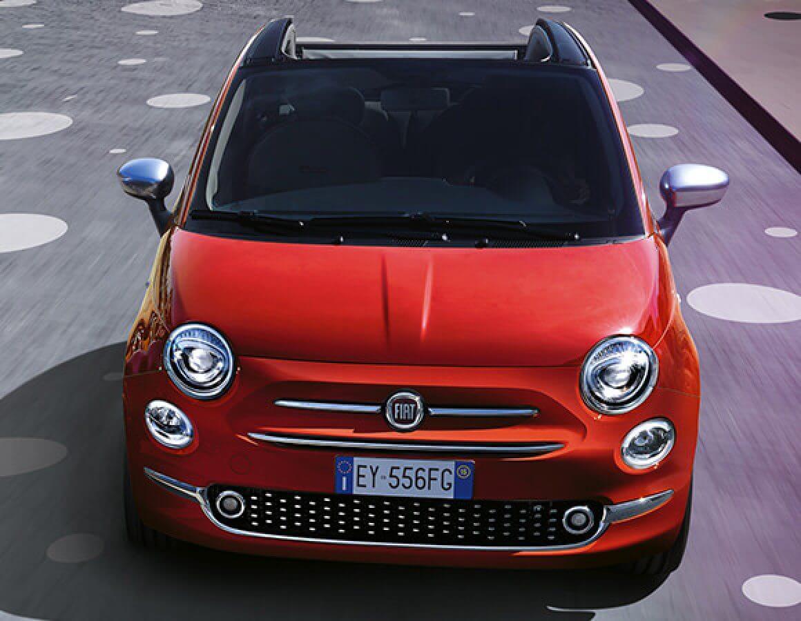 Fiat 500C anteriore