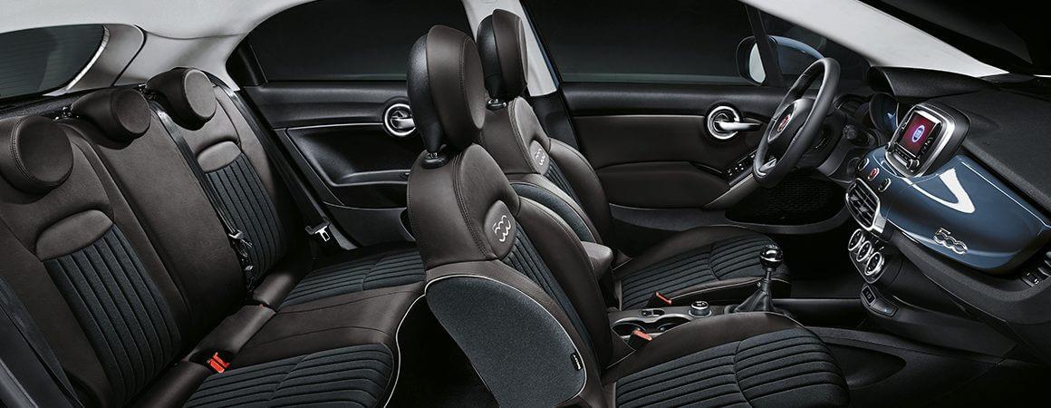 Fiat 500X  City Look marrone pastello