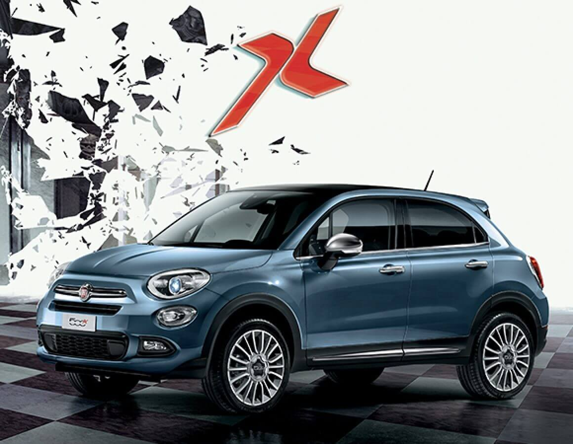 Fiat 500X  City Look laterale