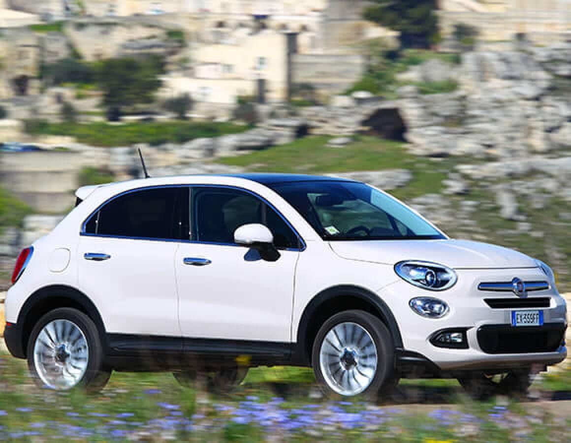 Fiat 500X  City Look lato destro