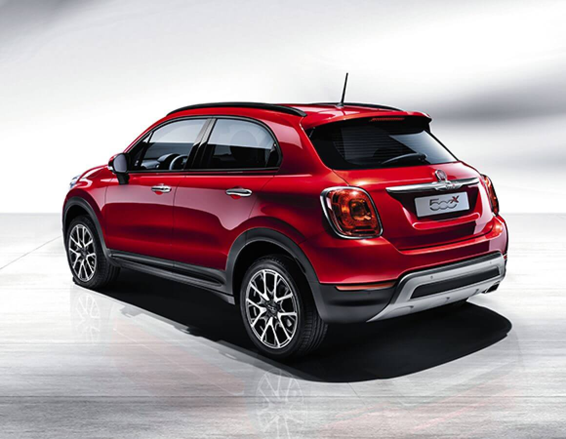 Fiat 500X Off Road Look posteriore