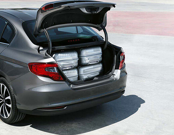 Capacità Bagagliaio Fiat tipo 4 Porte
