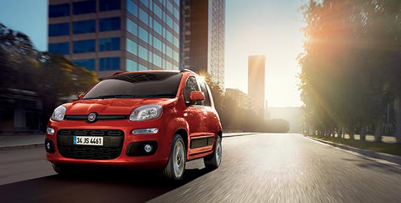 Şehrin en yetenekli otomobili Fiat Panda!